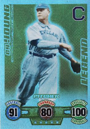 The Card Of The Game Topps Attax Cy Young Shot Not Taken