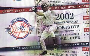 A Jeter flip book which I found among the commons