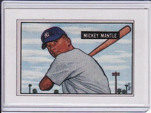 Mickey Mantle Bowman