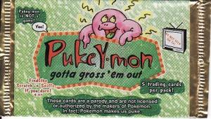 Pukeymon pack