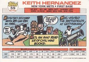 Topps Big Keith Hernandez