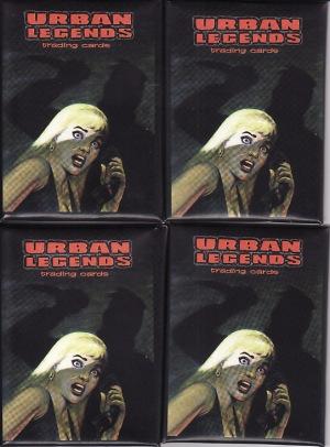 Urban Legends packs