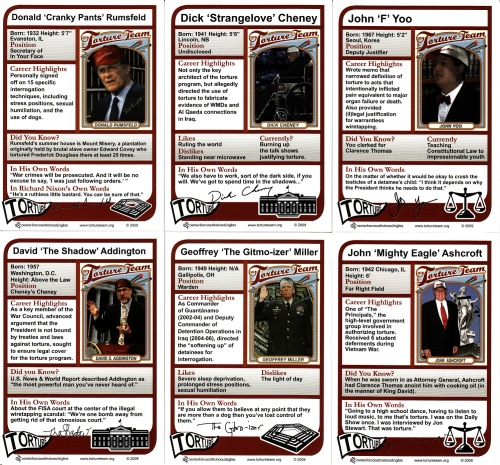 Torture Team cards back