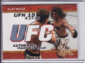 Topps UFC_Clay Guida Relic