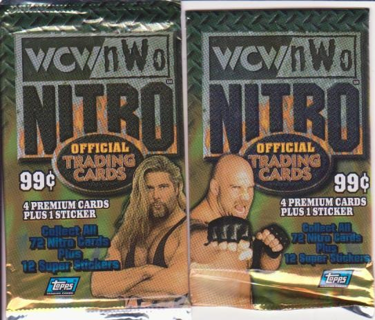 Pack Battle: Topps WCW NWO Nitro vs Topps WWE Action | Shot