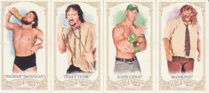 2012 Topps WWE Heritage Allen and Ginter