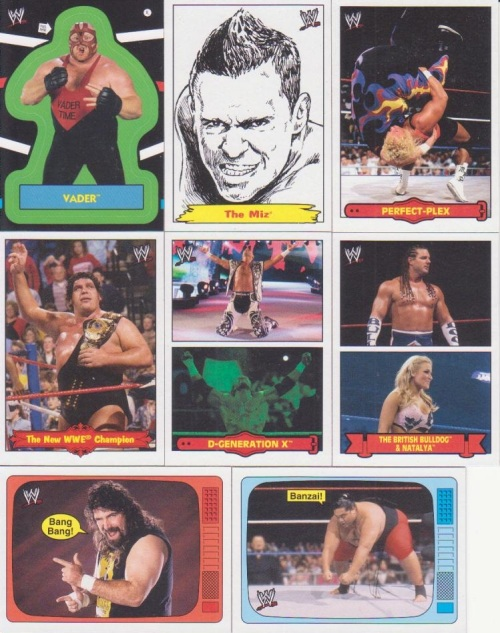 2012 Topps WWE Heritage Inserts