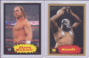 Shawn Michaels Black Kamala Gold Parallel