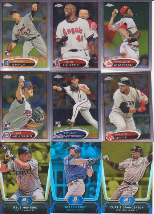 2012 Topps Chrome 2012 Bowman Platinum