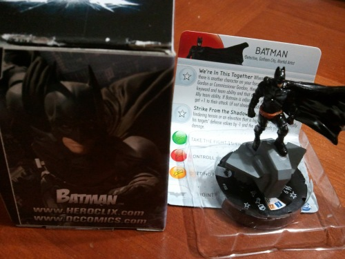 Dark Knight Rises Heroclix