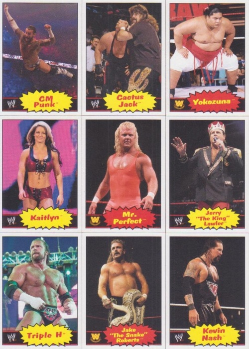 More 2012 WWE Heritage Base