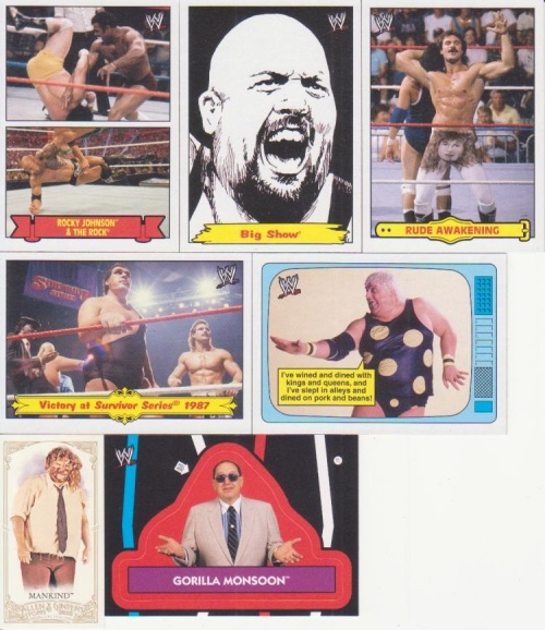 More 2012 WWE Heritage Inserts