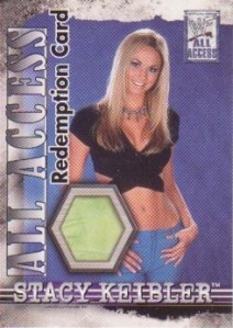 Stacy Keibler Redemption Card