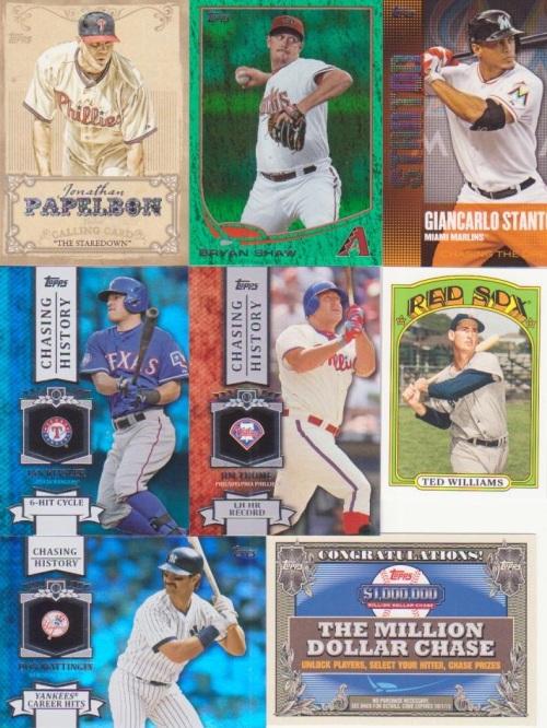 2013 Topps Baseball Series 1 Inserts