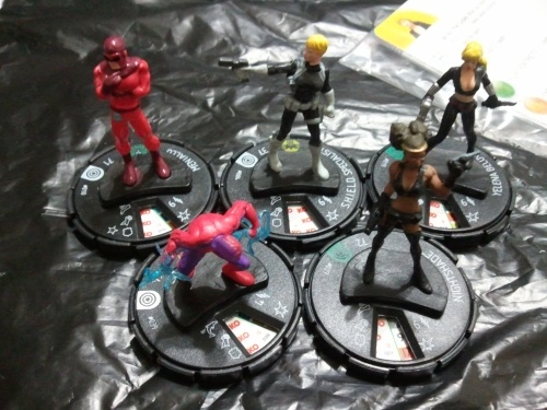Captain America Heroclix figures