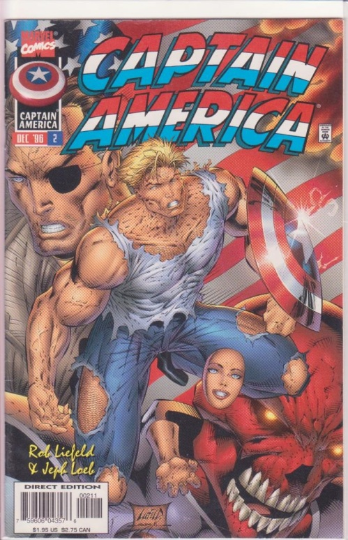 Rob Liefeld Captain America 2