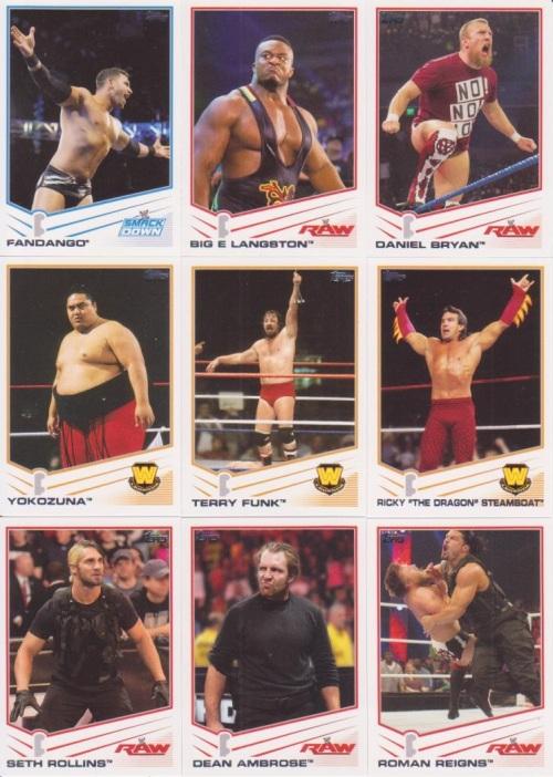 2013 Topps WWE Base 1
