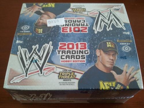 2013 Topps WWE Hobby Box