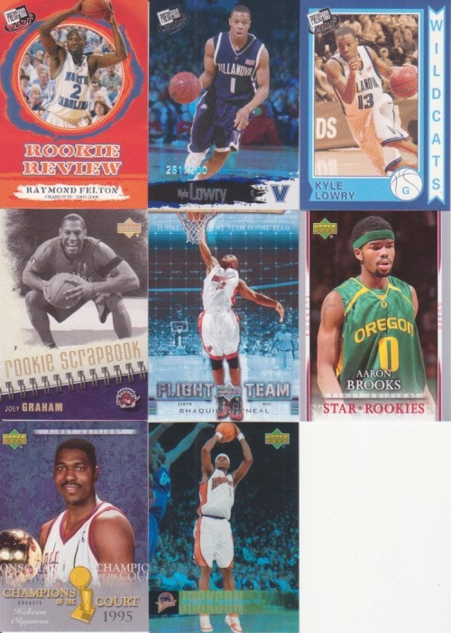 A Couple More basketball cards