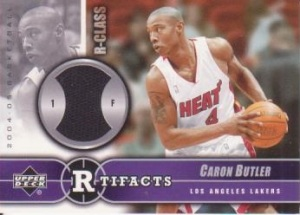 Caron Butler Game Used