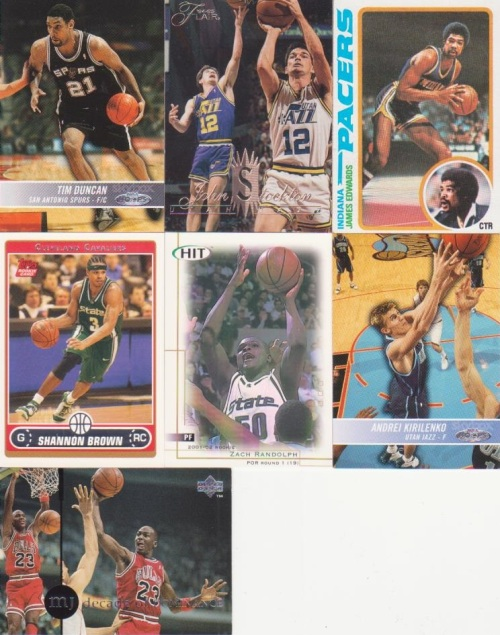 Some Basketball cards