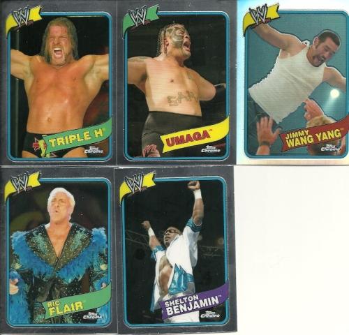 Topps Chrome WWE Heritage III