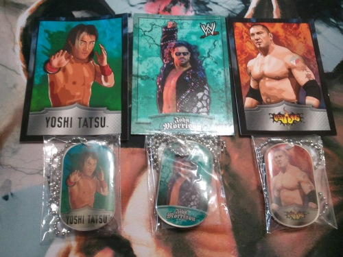 WWE Dog Tags