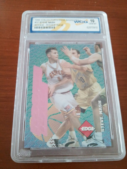 1996 Collector's Edge Rookie Rage Steve nash Gem Mint
