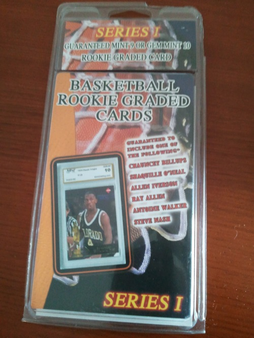 Basketball Rookie Graded Cards Pack