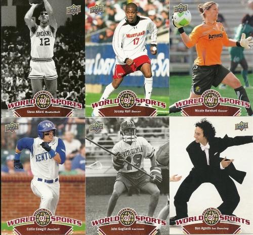 Random 2010 Upper Deck World of Sports Pack
