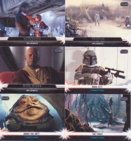 Topp Star Wars Jedi Legacy Inserts