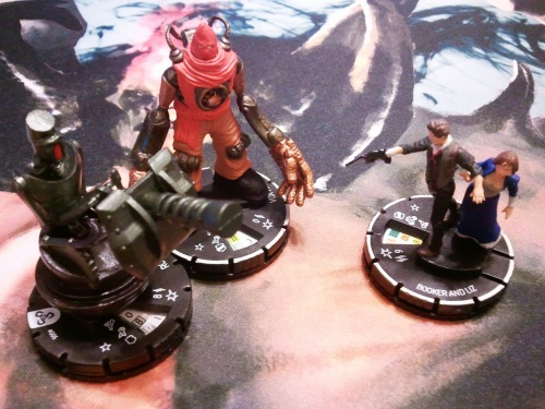 Booker and Liz Rocket Turret Handyman Heroclix