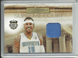 Carmelo Anthony Mem Card