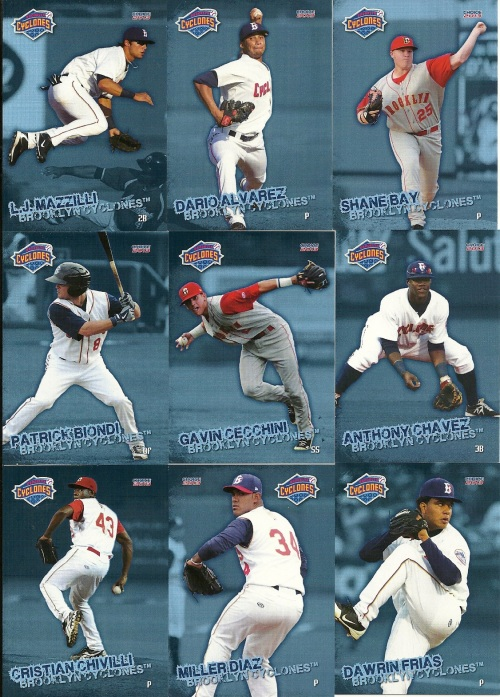 Brooklyn Cyclones Cards 1