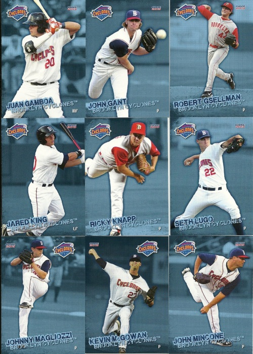 Brooklyn Cyclones Cards 2