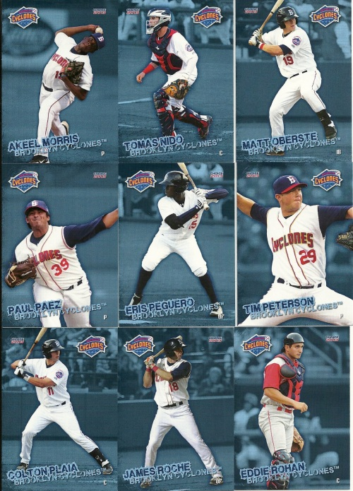 Brooklyn Cyclones Cards 3