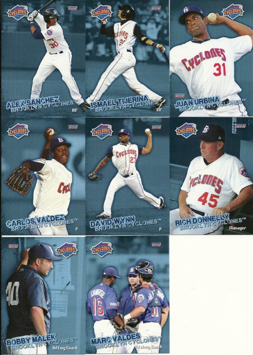 Brooklyn Cyclones Cards 4
