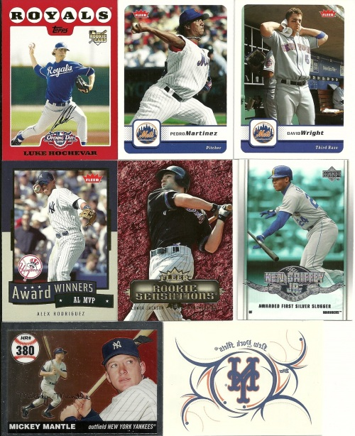 Games of the Games Baseball Cards