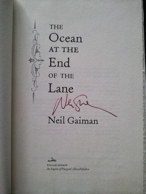 Neil Gaiman Autograph
