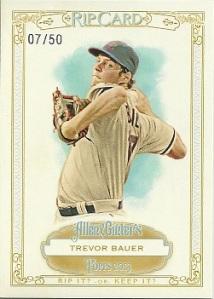 Trevor Bauer Rip Card
