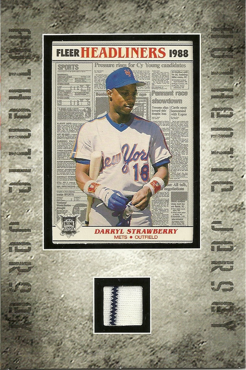 One More Time… Authentic Jersey/ Baseball Card Frames Repack Break ...