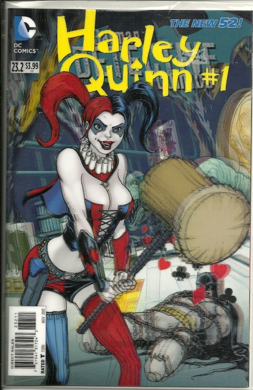 Harley Quin 3D Cover
