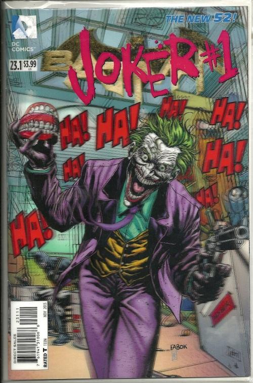 Joker 3D Cover
