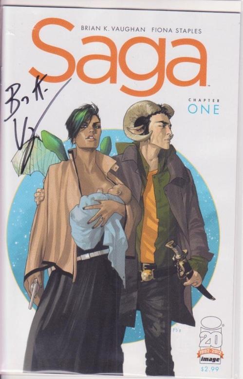 Saga #1 Signed
