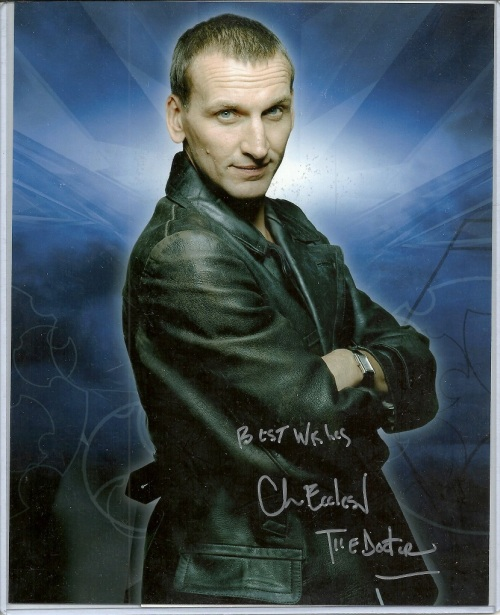 Christopher Eccleston Autograph