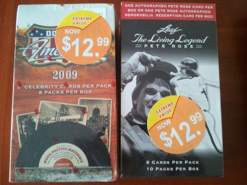 Leaf The Living Legend Pete Rose & 2009 Donruss Americana