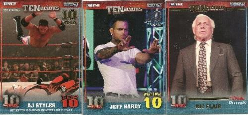Tristar TNA Impact Wrestling TENacious Parallels and Short Prints