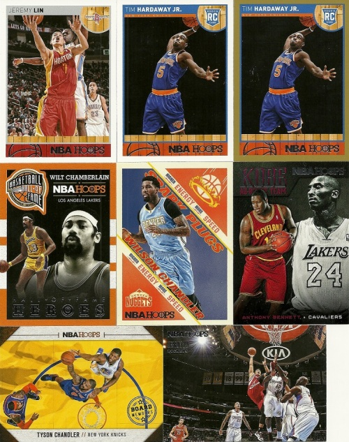 2013-14 Panini NBA Hoops Cards