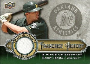 Bobby Crosby Mem Card