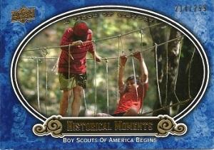 Boy Scouts Insert Card